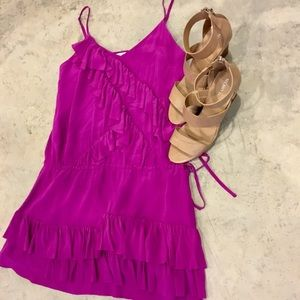 Banana Republic Ruffle Dress